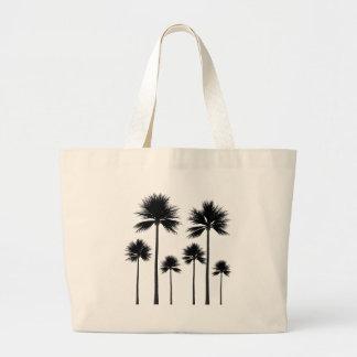 Bolsa Tote Grande Silhueta da palmeira