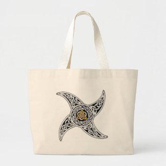 Bolsa Tote Grande símbolo dos céltico-guerreiros