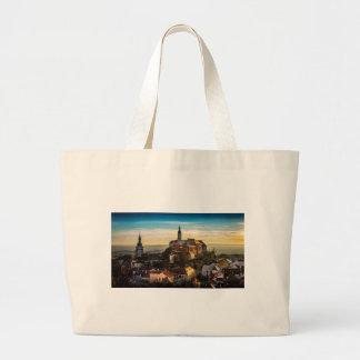 Bolsa Tote Grande Skyline da república checa