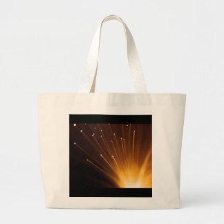 Bolsa Tote Grande Sumário da fibra óptica