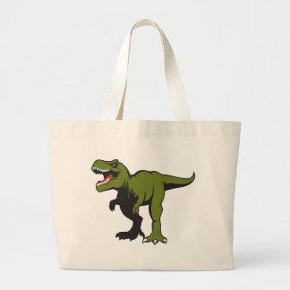 Bolsa Tote Grande T-Rex personalizou artigos