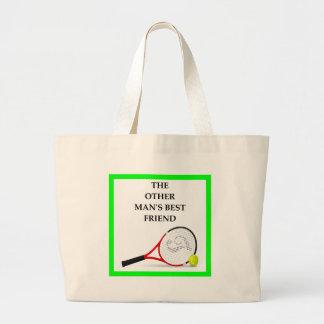 Bolsa Tote Grande tênis