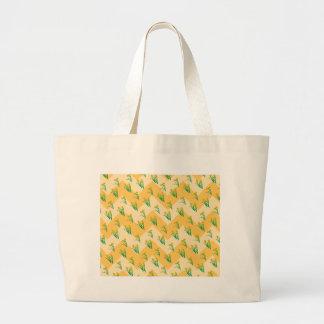 Bolsa Tote Grande Teste padrão dos Daffodils