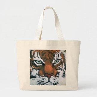 Bolsa Tote Grande Tigre majestoso