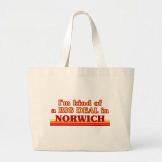 Bolsa Tote Grande Tipo de I´m de uma grande coisa em Norwich