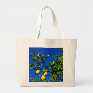 Bolsa Tote Grande Três limões sicilianos