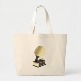 Bolsa Tote Grande Troféu do ténis de mesa