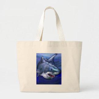 Bolsa Tote Grande Tubarão