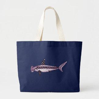 Bolsa Tote Grande Tubarão de Hammerhead