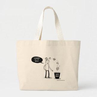 Bolsa Tote Grande Tudo é sacola boa