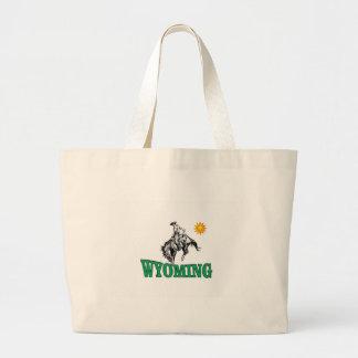 Bolsa Tote Grande Vaqueiro de Wyoming