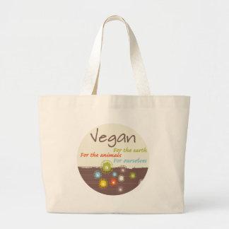 Bolsa Tote Grande Vegan. Para a terra, para animais, para nos