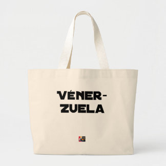 Bolsa Tote Grande VÉNER-ZUELA - Jogos de palavras - François Cidade