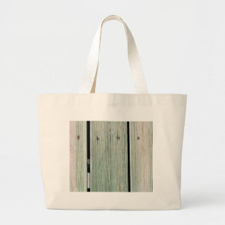 Bolsa Tote Grande Verde e passagem de madeira da prancha de Brown