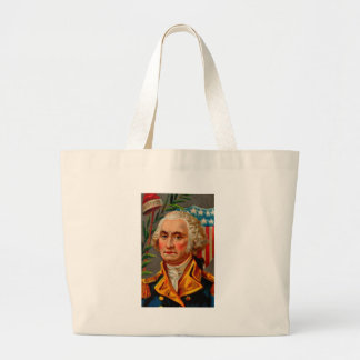 Bolsa Tote Grande Vintage de George Washington