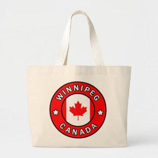 Bolsa Tote Grande Winnipeg Canadá