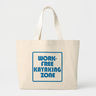 Bolsa Tote Grande Zona Kayaking livre do trabalho