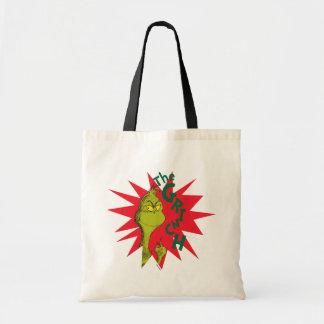 Bolsa Tote Grinch clássico | Starburst vermelho