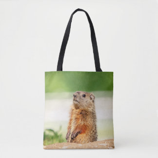 Bolsa Tote Groundhog novo