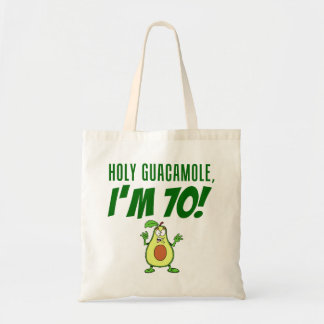 Bolsa Tote Guacamole santamente eu sou abacate de 70 desenhos