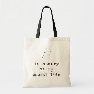 Bolsa Tote Guarda de cor: na memória de minha vida social