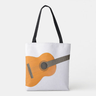 Bolsa Tote Guitarra clássica do saco feito sob encomenda