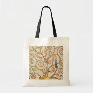Bolsa Tote Gustavo Klimt a árvore da arte Nouveau da vida