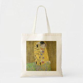 Bolsa Tote Gustavo Klimt o beijo