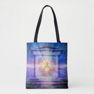 Bolsa Tote H110 sabem Thy noite do templo do coração