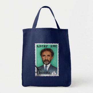 Bolsa Tote Haile Selassie império of Ethiopia Rastafari Bag