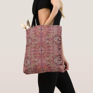 Bolsa Tote HAMbWG - sacola - persa cor-de-rosa