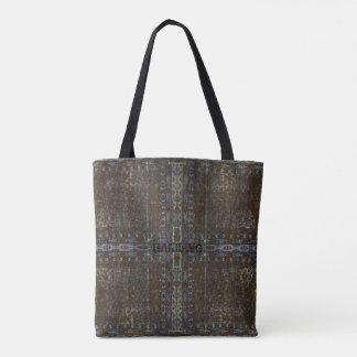 Bolsa Tote HAMbyWG projetou sacolas - bronze afligido