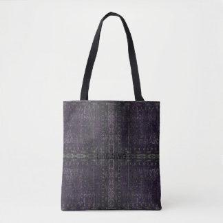 Bolsa Tote HAMbyWG projetou sacolas - roxo afligido