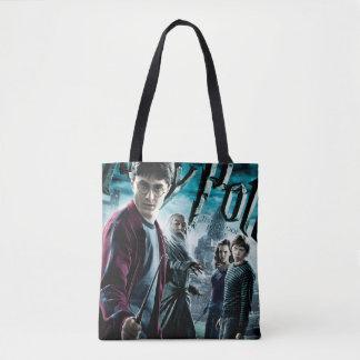 Bolsa Tote Harry Potter com Dumbledore Ron e Hermione 1