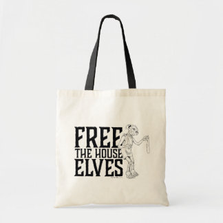 Bolsa Tote Harry Potter | livre os duendes da casa