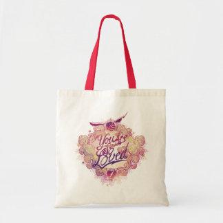 Bolsa Tote Harry Potter | você é assim que amado