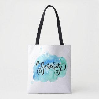 Bolsa Tote Hashtag # sacola da serenidade