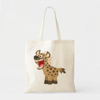 Bolsa Tote Hiena com fome bonito dos desenhos animados