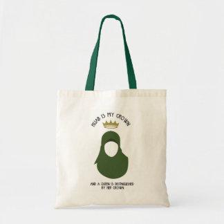 Bolsa Tote Hijab é minha coroa - HIJAB - AVO - SEM CARA
