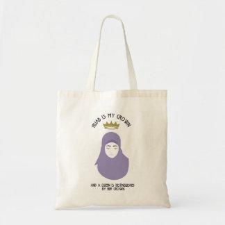 Bolsa Tote Hijab é minha coroa - HIJAB - VIO