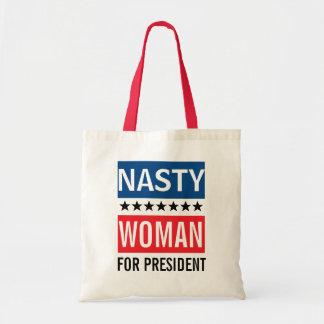 Bolsa Tote Hillary Clinton para a mulher desagradável do
