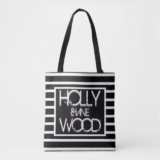 Bolsa Tote Hollywood e videira BHSF