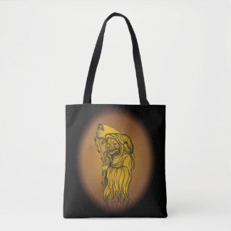 Bolsa Tote Homem do Scythe - a morte, Ceifador