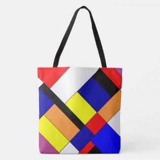 Bolsa Tote Homenagem a Mondrian
