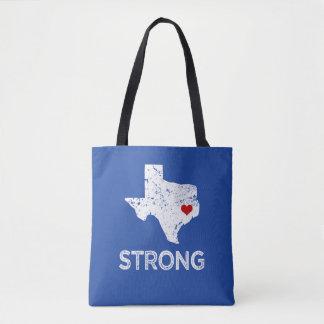 Bolsa Tote Houston forte, furacão Harvey Texas que diz o saco