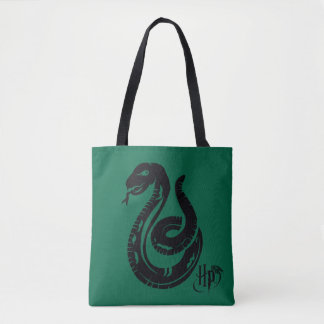 Bolsa Tote Ícone do cobra de Harry Potter | Slytherin