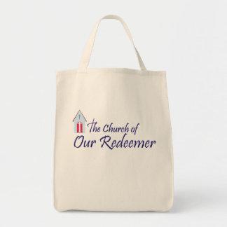 Bolsa Tote Igreja de nossa sacola do redentor