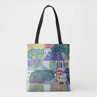 Bolsa Tote Igreja de Wolfgang da rua por Klimt
