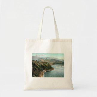 Bolsa Tote Ilha de Catalina, a angra do amante, vintage de