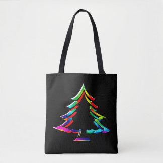 Bolsa Tote Ilumine-o acima da sacola do Natal